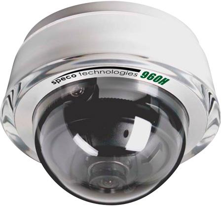 speco cdd11hw diamond series indoor dome/700tvl/3.6mm lens