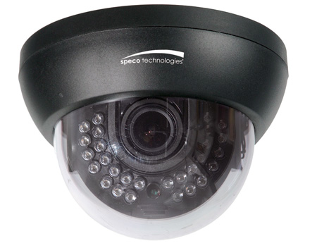 Speco HT649H 960H Indoor IR Dome/700TVL/2.8-12mm Lens/Dual Voltage/OSD