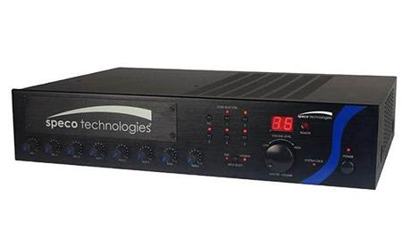 Speco Technologies PBM60A 60 Watt RMS PA Amplifier