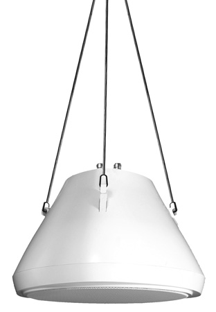 Speco SP30PT 30 Watt RMS 5.25-Inch Pendant Speaker with Hanging Chain