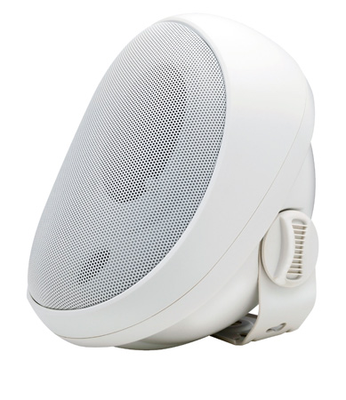 Speco SP4AWETW 4-Inch Outdoor Speaker with Transformer - White (each)