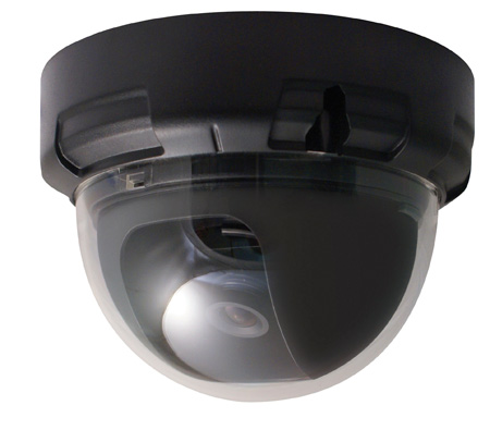 Speco VL644H Indoor Dome/750TVL/3.6mm fixed lens/12VDC/Black Housing