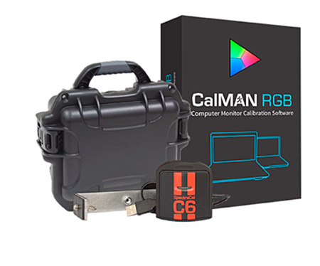 SpectraCal ASMRGBC6 CalMAN RGB Bundle with C6 Colorimeter