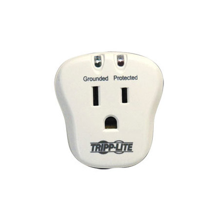 Tripplite SPIKECUBE Single Outlet Direct Plug-In Surge Suppressor