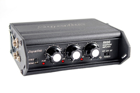 Superlux HA3D Headphone Amplifier