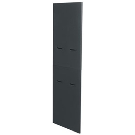 Pair of Side Panels Fits MRK-4426 & WRK-44-27 Black Finish