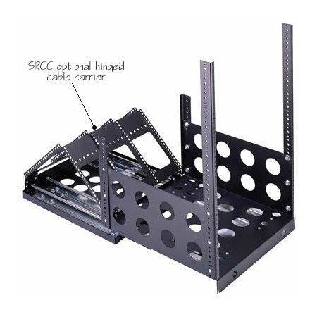 Optional Hinged Cable Carrier for SRS