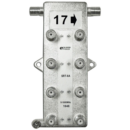 SRT Series Indoor 1GHz Taps for Directional Couplers 35 dB