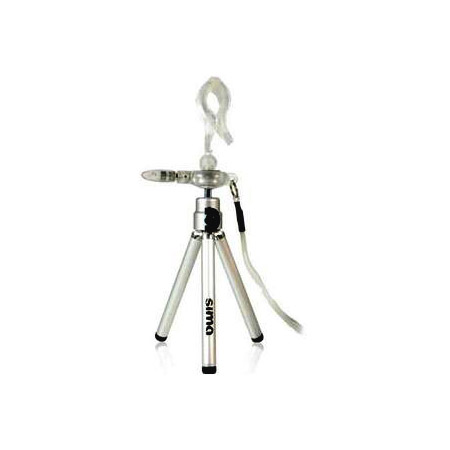 Sima Universal Mini Tripod with Adjustable/Lockable Swivel Head