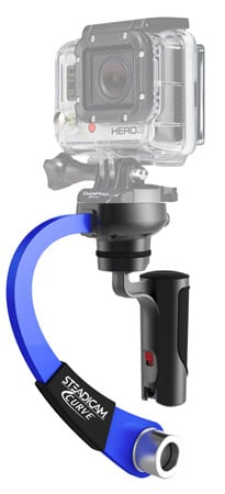 Steadicam CURVE-BL Stabilizer for the GoPro HERO - Blue