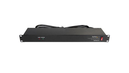 StarTech RKPW081915 Rackmount PDU with 8 Outlets and Surge Protection - 1U