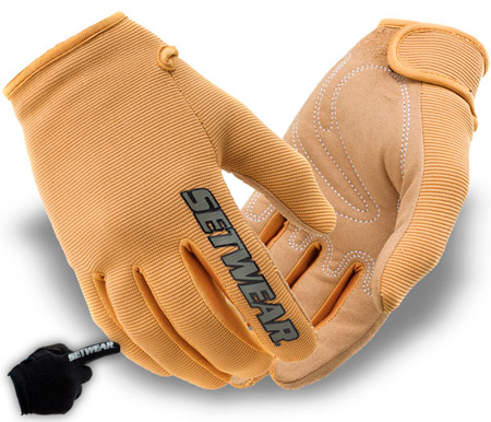 SetWear STH-09-011 Tan Stealth Glove - Size XL