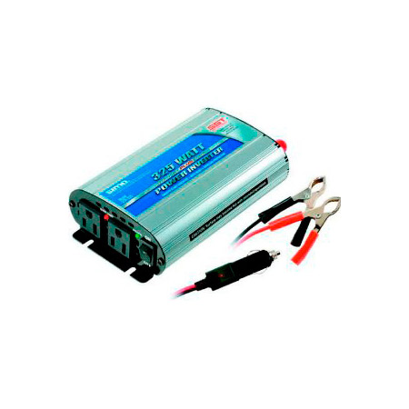 Sima 325 Watt Titanium 12V to 115V Power Inverter