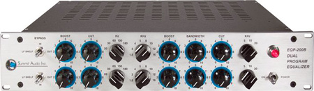 Summit Audio EQP-200B Dual Tube Program Equalizer