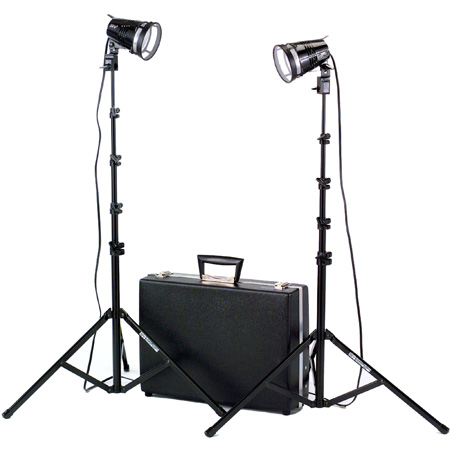 Hard Case 1200W(total) Two Light Kit