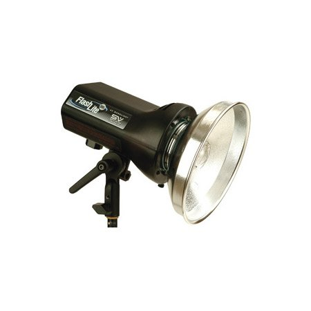 Smith-Victor FLC300 320 Watt/Second AC Monolight w/ Variable Power 100-Watt Quartz Halogen Modeling Lamp