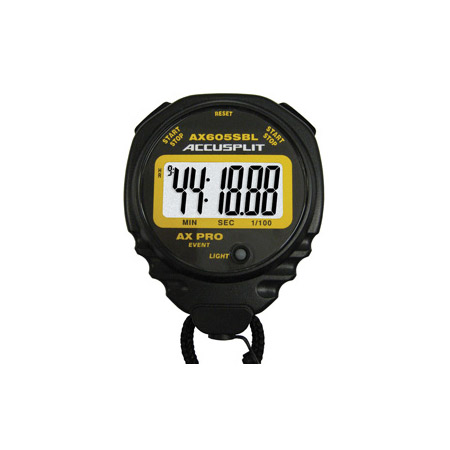 Accusplit AX605SBL AX Pro Series Stopwatch with Super Backlight