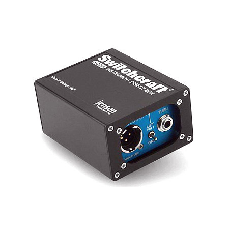 Switchcraft SC800 Instrument Direct Box with Jensen Transformer