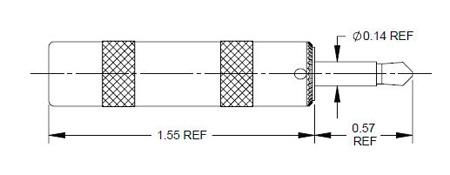 Switchcraft 374X Audio Adaptor 1/4 Jack to 3.5mm Plug