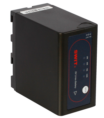 SWIT S-8972 DV Battery with DC Output for Sony NP-F970/770 - Li-Ion