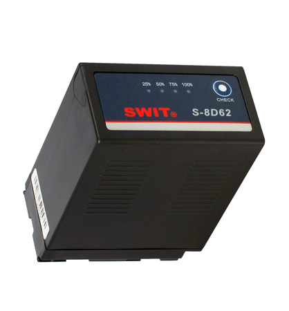 SWIT S-8D62 DV Battery with DC Output for Panasonic D54S/D28S - Li-Ion