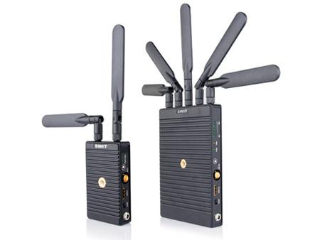 SWIT S-4914 TU/S-4914RS 700m 3GSDI/HDMI Wireless Transmission System: T w/ Sony BP-U60 Plate & R w/ V-mount Plate