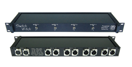 Pro Co Switch Witch Stereo In 4 Stereo Out Monitor Switcher