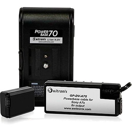 Core SWX PB70-A7S24 PowerBase 70 for Sony A7s - 24 Inch Cable