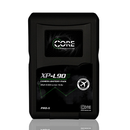 Core SWX XPL-90S V-Mount Li-Ion Brick Style Batteries 90wh