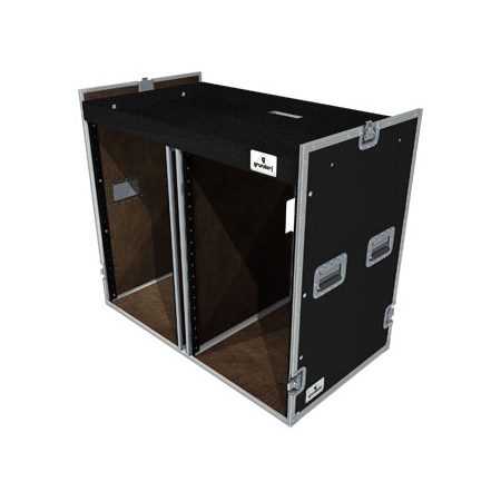 Grundorf T8-COMBO-D18 Double 18 Space Bottom Combo Case