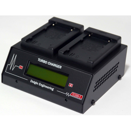 Dolgin Engineering TC200-SON-FM500H-i-TDM Two Position Simultaneous Battery Charger for Sony FM500H Batteries