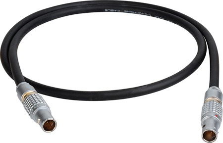 Laird RED Lemo to 2-Pin CUBE Teradek Power Cable - 12 Inch