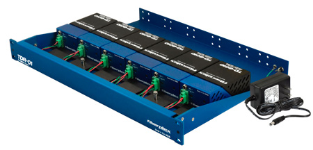 Fiberplex TDR-01-AC 6 Position Powered Rack for TD Series Modules