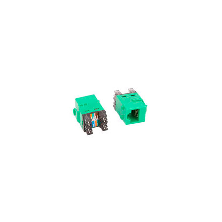 ADC-Commscope 2111475-9 T568A/T568B Category 6 RJ45 Jack Green