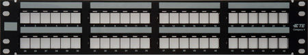 ADC-Commscope 2111528-1 2RU 48-Port Patch Panel Empty
