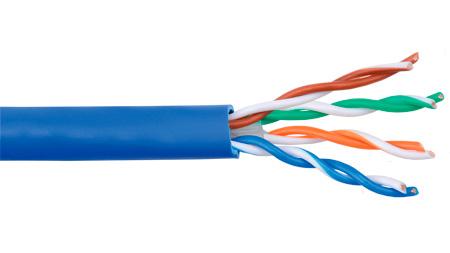 ADC-Commscope TE610P-BLII Category 6 CMP 24 AWG UTP Cable Reelex 1000 Ft Blue