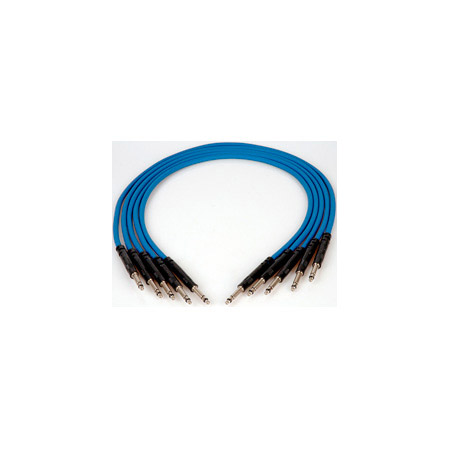 ADC-Commscope B1.5B Nickel Bantam Patch Cord Blue - 18 Inch