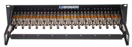 ADC-Commscope PPI2232-CJM-BK 2RU 2x32 Straight-Thru Non-Terminating Video Patchbay-Black