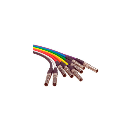 ADC-Commscope V2V-STS Standard Size HD Video Patch Cord Violet - 2 Foot
