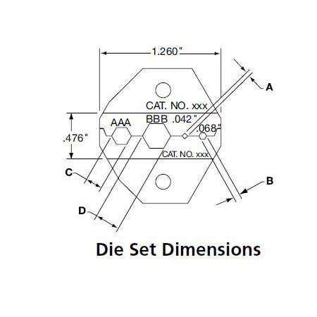 ADC-Commscope BNC Crimp Die .255/.324