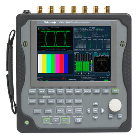 Tektronix WFM2300-3G Add Support for 3G-SDI Signal Formats for WFM2300