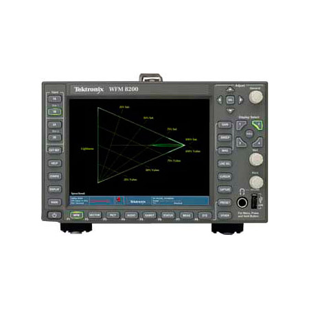 Tektronix WFM8200 Advanced 3G/HD/SD Waveform Monitor