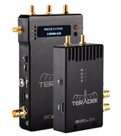Teradek Bolt 990 Bolt 2000 Wireless HD-SDI/HDMI Dual Format Video Transmitter/Receiver