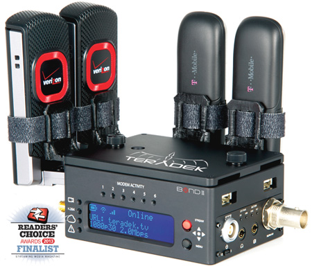 Teradek BOND II HDMI Integrated HDMI Cellular Bonding Solution