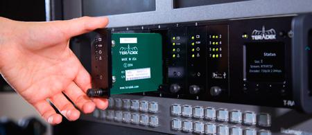 Teradek TRAX-1106 T-Rax H.264 Decoder Card - HD-SDI Output