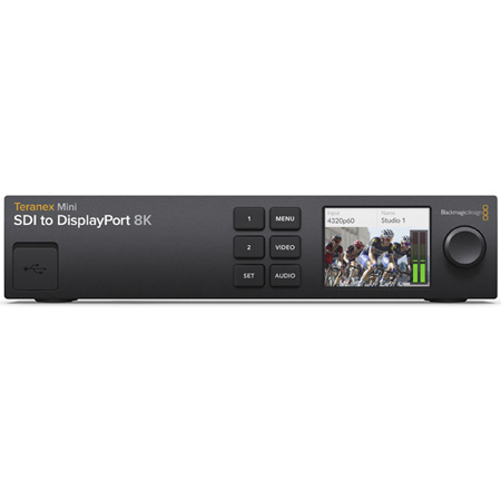 Blackmagic TERANEXMINISDIHD Teranex Mini SDI to DisplayPort 8K HDR Monitoring Solution