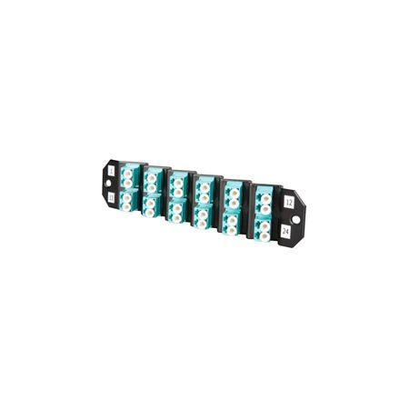 ADC-Commscope TFP-24MPLSQ5 SM 12 LC Duplex (24-Fiber) Patch Cassette Angle Left