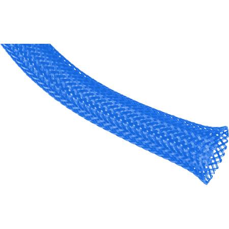 Techflex PTN-2.00NY Flexopet 2 Inch Expandable Tubing- 200 Foot Spool - Neon Blue