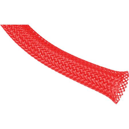 Techflex PTN-2.00NR Flexopet 2 Inch Expandable Tubing- 200 Foot Spool - Neon Red