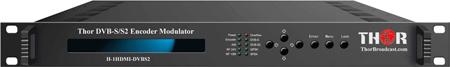 Thor Fiber H-1HDMI-DVBS2 1-Channel HDMI to DVB-S2 Satellite Encoder Modulator